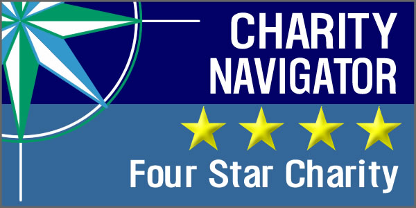 Charity Navigator Four-star Rating
